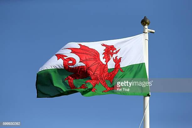 13rd Tour of Britain 2016 / Stage 4 Illustration / Flag of Wales / Denbigh to Builth Wells / TOB /Tim De WaeleKT/Tim De Waele/Corbis via Getty Images)
