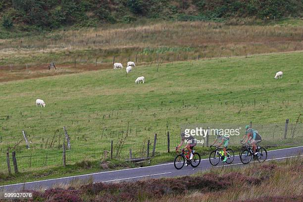 13rd Tour of Britain 2016 / Stage 4 Rob PARTRIDGE / Matthew HOLMES / Alessandro TONELLI / Miguel Angel BENITO / Denbigh to Builth Wells / TOB /Tim De...