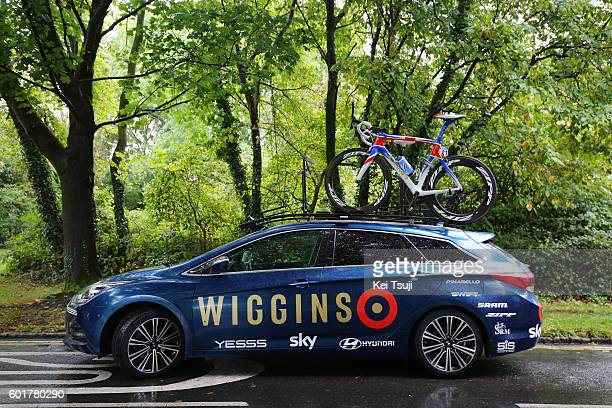 13rd Tour of Britain 2016 / Stage 7a Team Wiggins / Team Car / Bristol Bristol / TOB /Tim De WaeleKT/Tim De Waele/Corbis via Getty Images