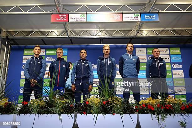 13rd Tour of Britain 2016 / Team Presentation Team Etixx Quick Step / Daniel MARTIN / Adrien COSTA / Julien VERMOTE / Tony MARTIN / Ariel Maximiliano...