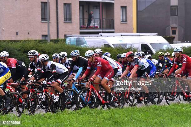 13th BinckBank Tour 2017 / Stage 4 Jenthe BIERMANS / Marko KUMP / Peloton / Lanaken - Lanaken / BBT /