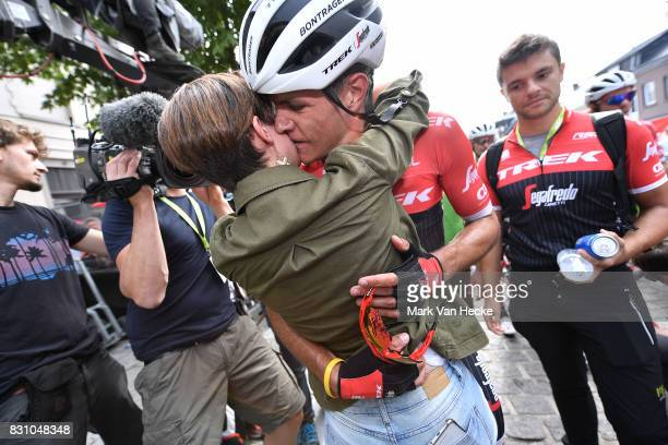 13th BinckBank Tour 2017 / Stage 7 Arrival / Jasper STUYVEN / Mother / Celebration / Press Media / Essen Geraardsbergen 55m / BBT /