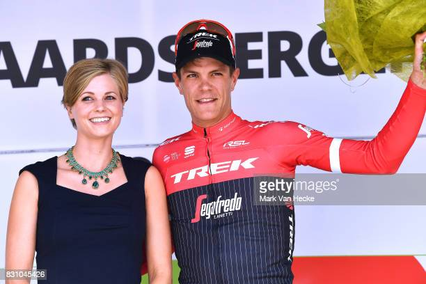 13th BinckBank Tour 2017 / Stage 7 Podium / Jasper STUYVEN / Celebration / Essen Geraardsbergen 55m / BBT /