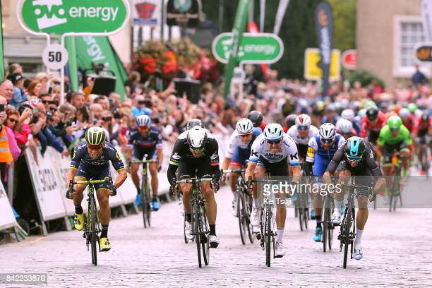 14th Tour of Britain 2017 / Stage 1 Arrival / Caleb EWAN / Edvald BOASSON HAGEN / Elia VIVIANI / Alexander KRISTOFF / Fernando GAVIRIA / Luka MEZGEC...
