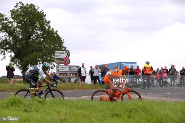 14th Tour of Britain 2017 / Stage 1 Karol DOMAGALSKI / Lukasz OWSIAN / Edinburgh - Kelso / OVO Energie / TOB /