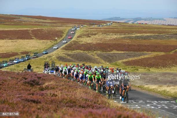 14th Tour of Britain 2017 / Stage 1 Landscape / Peloton / Edinburgh - Kelso / OVO Energie / TOB /