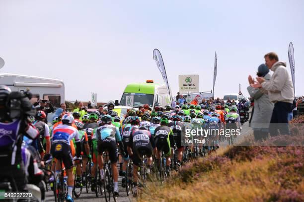 14th Tour of Britain 2017 / Stage 1 Peloton / Landscape / Redstone Rigg / Edinburgh - Kelso / OVO Energie / TOB /