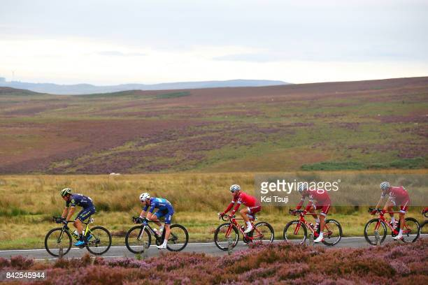 14th Tour of Britain 2017 / Stage 2 Robert POWER / Reto HOLLENSTEIN / Mads WURTZ SCHMIDT / Nils POLITT / Kielder Water Forest Park Blyth / OVO...