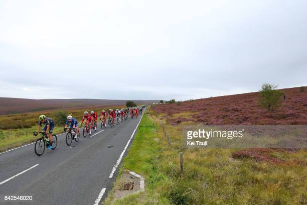14th Tour of Britain 2017 / Stage 2 Robert POWER / Reto HOLLENSTEIN / Mads WURTZ SCHMIDT / Nils POLITT / Peloton / Kielder Water Forest Park Blyth /...