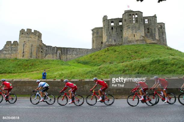 14th Tour of Britain 2017 / Stage 2 Tony MARTIN / Alexander KRISTOFF European Champion Jersey / Tiago MACHADO / Reto HOLLENSTEIN / Nils POLITT / Mads...