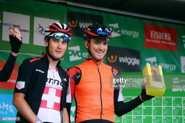 14th Tour of Britain 2017 / Stage 3 Start / Podium / Stefan KUNG / Joey ROSSKOPF / Normanby Hall Country Park Scunthorpe / OVO Energie / TOB /