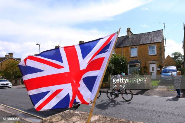 14th Tour of Britain 2017 / Stage 7 Steele VON HOFF / Union Jack Flag / Hemel Hempstead Cheltenham / OVO Energie / TOB /