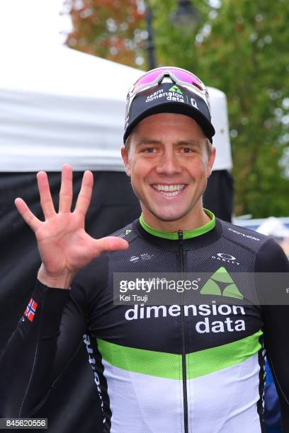 14th Tour of Britain 2017 / Stage 8 Arrival / Edvald BOASSON HAGEN / Celebration / Worcester Cardiff / OVO Energie / TOB /