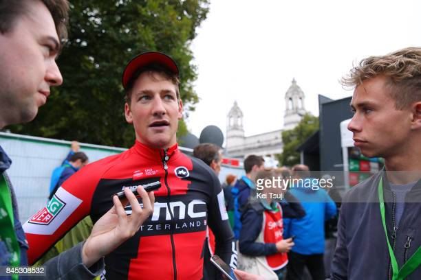 14th Tour of Britain 2017 / Stage 8 Arrival / Stefan KUNG / Interview / Worcester Cardiff / OVO Energie / TOB /