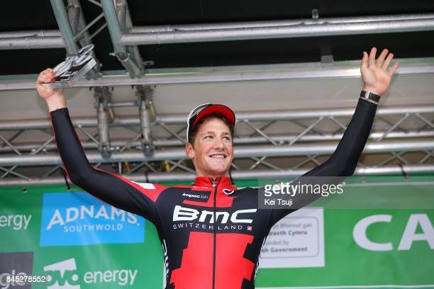 14th Tour of Britain 2017 / Stage 8 Podium / Stefan KUNG / Celebration / Trophy / Worcester Cardiff / OVO Energie / TOB /