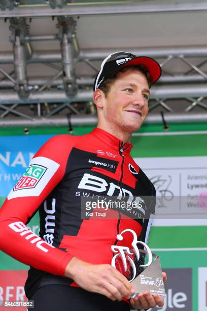 14th Tour of Britain 2017 / Stage 8 Podium / Stefan KUNG / Trophy / Worcester Cardiff / OVO Energie / TOB /