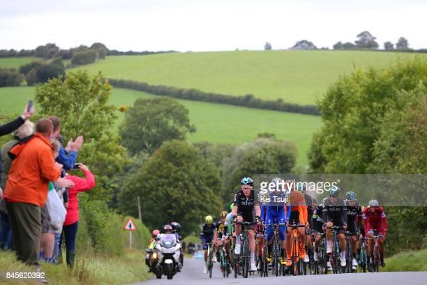 14th Tour of Britain 2017 / Stage 8 Tao GEOGHEGAN HART / Daniel MARTIN / Lukasz OWSIAN / Michal KWIATKOWSKI / Geraint THOMAS / Peloton / Fans /...