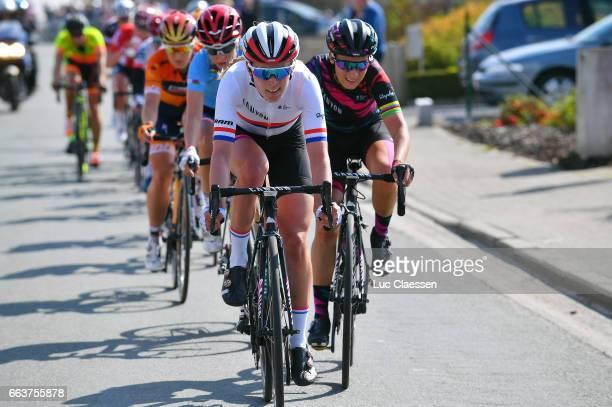 14th Tour of Flanders 2017 / Women Hannah BARNES / Pauline FERRANDPREVOT / Oudenaarde Oudenaarde / Women / Ronde Van Vlaanderen / Tour of Flanders /...