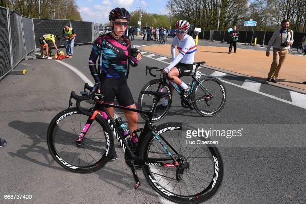 14th Tour of Flanders 2017 / Women Pauline FERRANDPREVOT / Hannah BARNES / Oudenaarde Oudenaarde / Women / Ronde Van Vlaanderen / Tour of Flanders /...