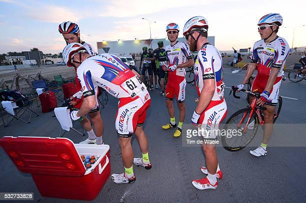 14th Tour of Qatar 2015 / Stage 1 Arrival / KRISTOFF Alexander / PAOLINI Luca / KUZNETSOV Viacheslav / Team Katusha / Dukhan Sealine Beach / Etape...
