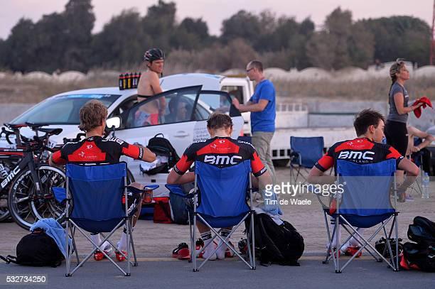 14th Tour of Qatar 2015 / Stage 1 Arrival / VELITS Peter / DRUCKER JeanPierre / ZABEL Rick / BMC Racing Team / Dukhan Sealine Beach / Etape Rit...