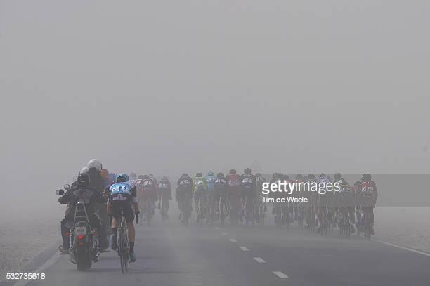 14th Tour of Qatar 2015 / Stage 2 Illustration Illustratie / Peleton Peloton / KEISSE Iljo / Dust Poussiere Stof / Echelons Bordures Waaiers /...