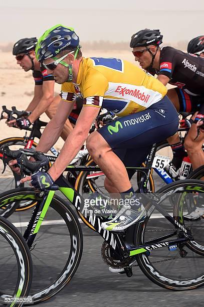 14th Tour of Qatar 2015 / Stage 2 ROJAS Jose Joaquin Yellow Leader Jersey / Al Wakra - Al Khor Corniche / Etape Rit / Ronde/ Tim De Waele