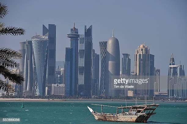 15th Tour of Qatar 2016 / Stage 5 Illustration Illustratie / Doha City Ville Stad / Skyline / Landscape Paysage Landschap / Sealine Beach Resort Doha...