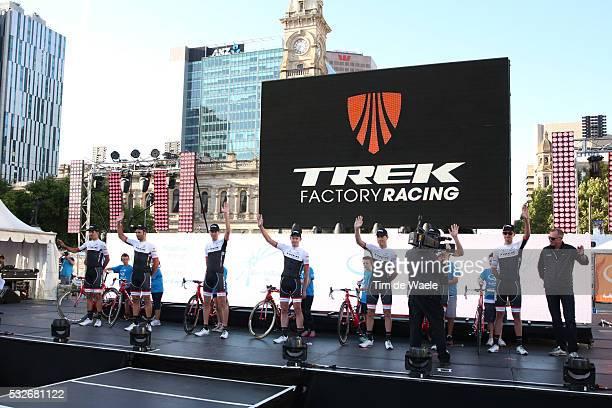 17th Santos Tour Down Under 2015/ Team Presentation Team Trek Factory Racing/ ALAFACI Eugenio / COLEDAN Marco / DIDIER Laurent / McCONNELL Daniel /...