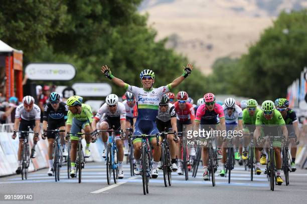 18Th Santos Tour Down Under 2016, Stage 1Arrival , Ewan Caleb / Celebration Joie Vreugde, Mark Renshaw / Wouter Wippert / Marko Kump / Adam Blythe ,...
