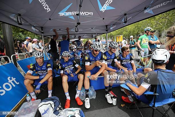 18th Santos Tour Down Under 2016 / Stage 6 Start Departure Vertrek / Team ETIXX QUICKSTEP / VAKOC Petr / MARTINELLI Davide / SERRY Pieter / DE LA...