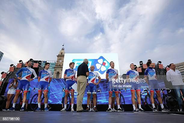 18th Santos Tour Down Under 2016 / Team Presentation Team FDJ / MORABITO Steve / LE BON Johan / OFFREDO Yoann / FISCHER Murilo / VAUGRENARD Benoît /...