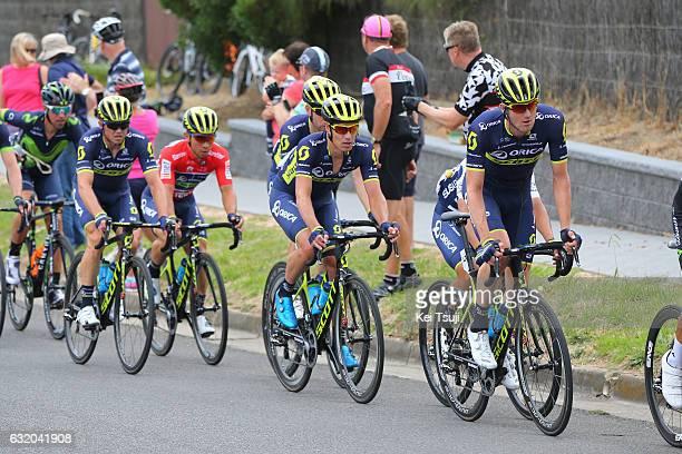 19th Santos Tour Down Under 2017/ Stage 3 - Men Simon GERRANS / Esteban CHAVES Polkadot Mountain Jersey / Daryl IMPEY / Roger KLUGE / Luke DURBRIDGE...