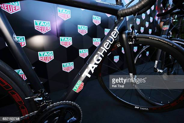 19th Santos Tour Down Under 2017/ Stage 4 Men BMC Racing Team TAG Heuer / TAG Heuer Watch / Presentation / Norwood Campbelltown / Bupa Stage / Men /...