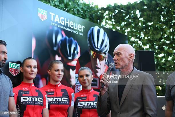 19th Santos Tour Down Under 2017/ Stage 4 Men Marc BIVER PR TAG Heuer / BMC Racing Team TAG Heuer / TAG Heuer Watch / Presentation / Norwood...