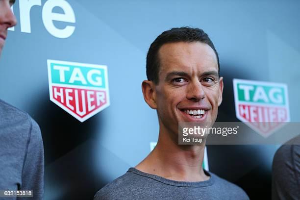 19th Santos Tour Down Under 2017/ Stage 4 Men Richie PORTE / BMC Racing Team TAG Heuer / TAG Heuer Watch / Presentation / Norwood Campbelltown / Bupa...