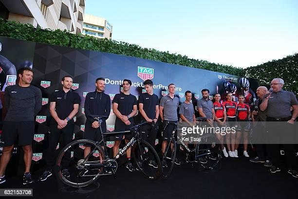 19th Santos Tour Down Under 2017/ Stage 4 Men Rohan DENNIS / Danilo WYSS / Richie PORTE / Amael MOINARD / Francisco VENTOSO / Miles SCOTSON / Damiano...