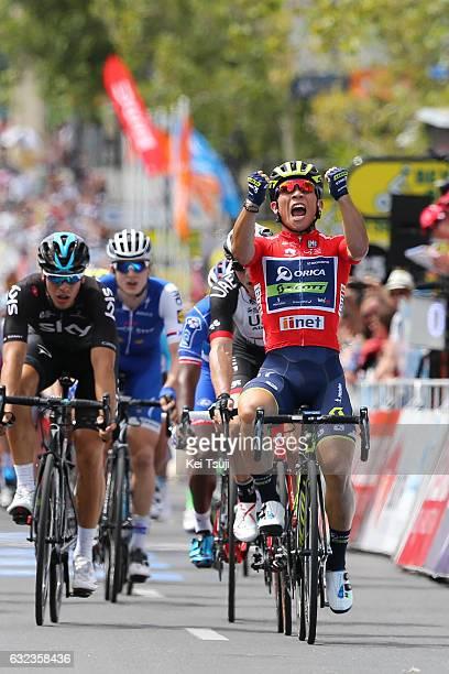 19th Santos Tour Down Under 2017/ Stage 6 - Men Arrival / Sprint / Caleb EWAN Red Sprint Jersey / Peter SAGAN / Marko KUMP / Danny VAN POPPEL / Petr...