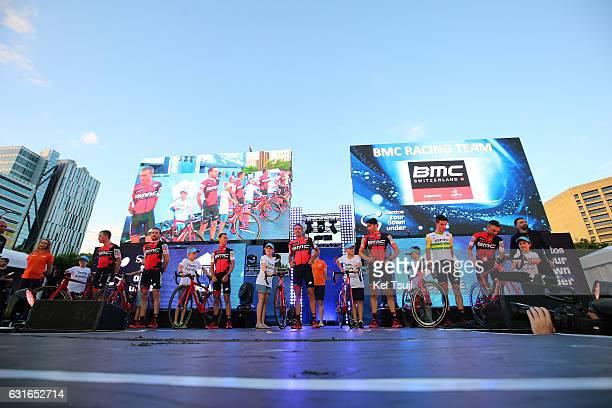 19th Santos Tour Down Under 2017 / Teams Presentation Team BMC Racing / Rohan DENNIS / Danilo WYSS / Richie PORTE / Amael MOINARD / Francisco VENTOSO...