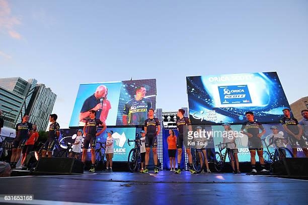 19th Santos Tour Down Under 2017 / Teams Presentation Team OricaScott / Simon GERRANS / Esteban CHAVES / Daryl IMPEY / Roger KLUGE / Luke DURBRIDGE /...