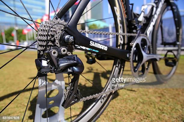 19th Santos Tour Down Under 2017 / Teams Presentation Team Sky / Pinarello bike / Shimano Dura Ace Rear Derailleur / Victoria Square - Tarntanyangga...
