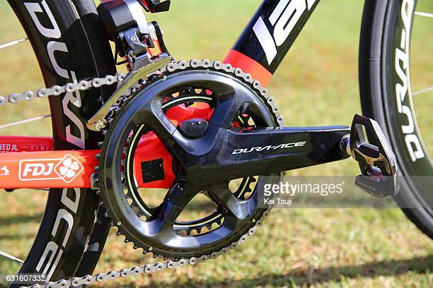 19th Santos Tour Down Under 2017 / Training Team FDJ / Lapierre bike / Crank / Shimano power meter / / Training / TDU / Tim De WaeleKT/Tim De...