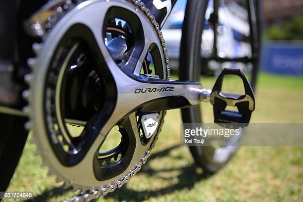 19th Santos Tour Down Under People's Choice Classic 2017 Team QuickStep Floors / Specialized bike / Crank / 4iiii Power meter / AdelaideEast End...