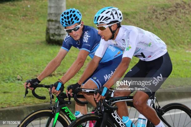 1st Colombia Oro y Paz 2018 / Stage 6 Egan Arley Bernal Gomez White Best Young Rider / Armenia ManizalesTorre de Chipre 2202m /