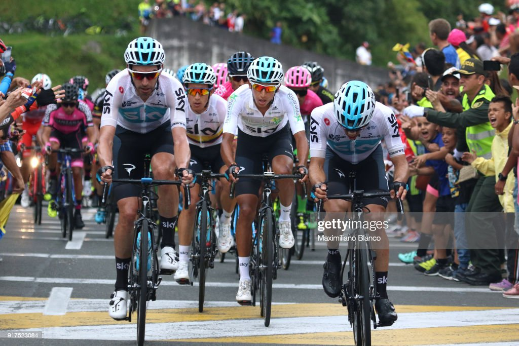 1st Colombia Oro y Paz 2018 / Stage 6 Egan Arley Bernal Gomez (COL) White Best Young Rider Jersey / Team SKY (GBR)/ Armenia - Manizales-Torre de Chipre 2202m (163,7km)/