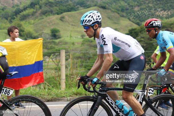 1st Colombia Oro y Paz 2018 / Stage 6 Jonathan Castroviejo / Armenia ManizalesTorre de Chipre 2202m /