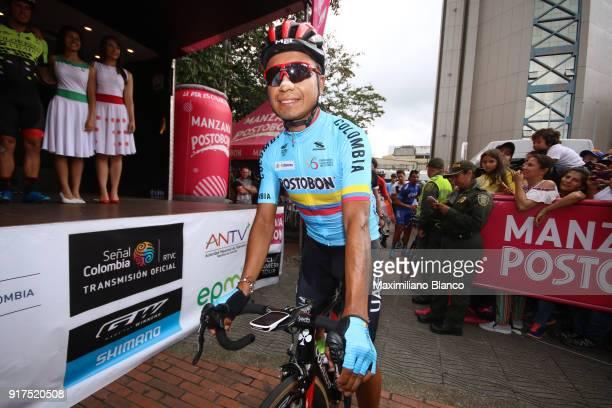 1st Colombia Oro y Paz 2018 / Stage 6 Start / Jhon Darwin Atapuma Hurtado / Armenia ManizalesTorre de Chipre 2202m /