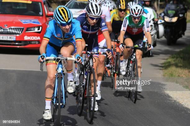 1St European Road Championships 2016 Elite Women'S Road Race Anisha Vekemans / Severine Eraud / Nicole Hanselmann / Plumelec Plumelec //