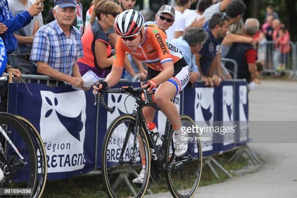 1St European Road Championships 2016, Elite Women'S Road Race Anna Van Der Breggen / Plumelec - Plumelec //