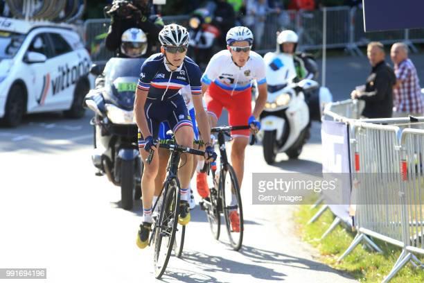 1St European Road Championships 2016 U23 Men'S Road Race David Gaudu / Plumelec Plumelec //